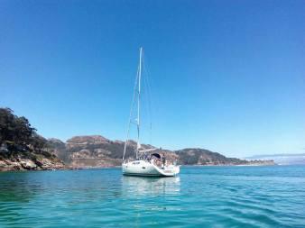Excursión a las Islas Cíes a bordo de un velero