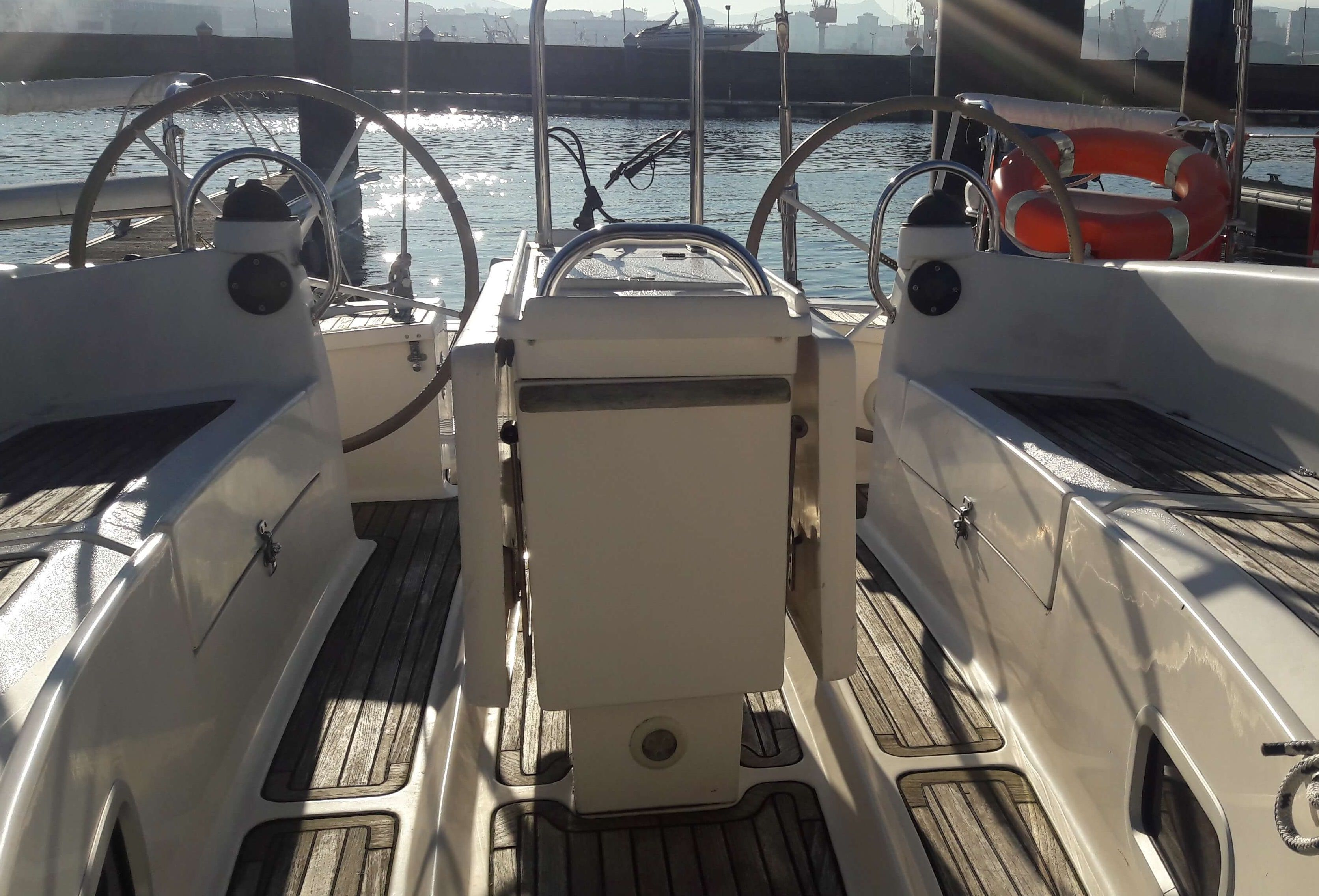 Ro400_bañera_Sailway_charter_Galicia_Ria_VIgo_Cies