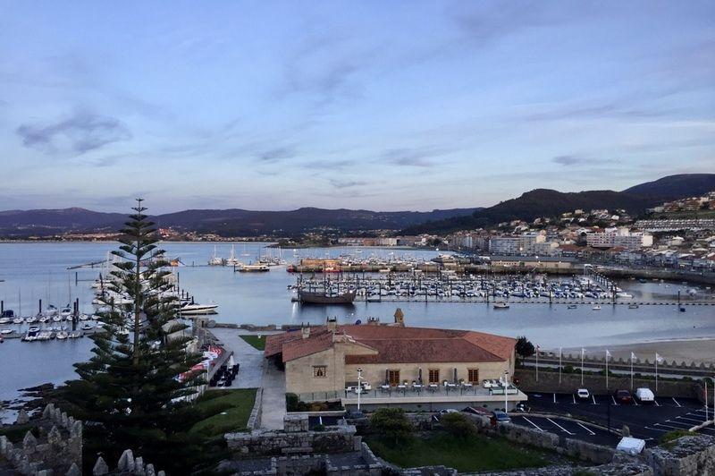Baiona_Vista_sobre_Club_de_Yates_Sailway_Galicia_Rias_Baixas