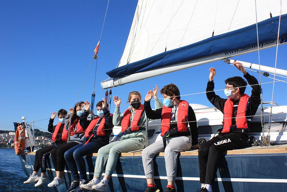 Clases a bordo de Sailway